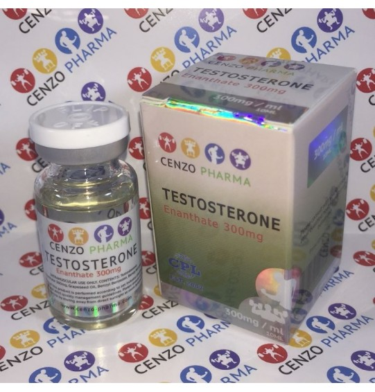 (CENZO VIAL) TEST ENANTHATE 300MG